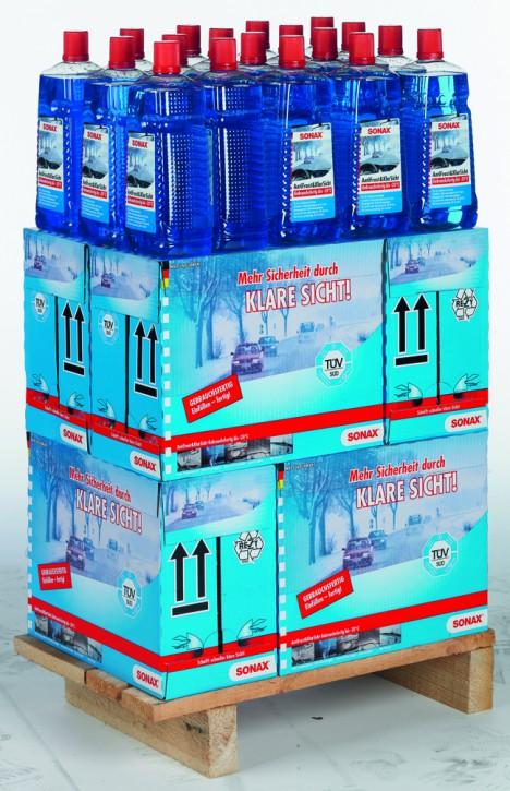( 2,31 EUR pro Liter) BIG DEAL ANGEBOT! SONAX Antifrost & Klarsicht Gebrauchsfertig bis -20°C DISPLAY. 54X2L
