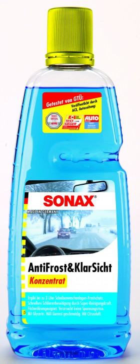 ( 4,45 EUR pro Liter) SONAX Antifrost & Klarsicht Konzentrat 1 Liter