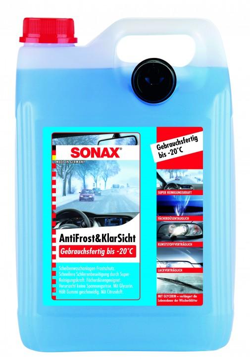 ( 1,84 EUR pro Liter) SONAX Antifrost & Klarsicht Gebrauchsfertig bis -20°C 5 Liter