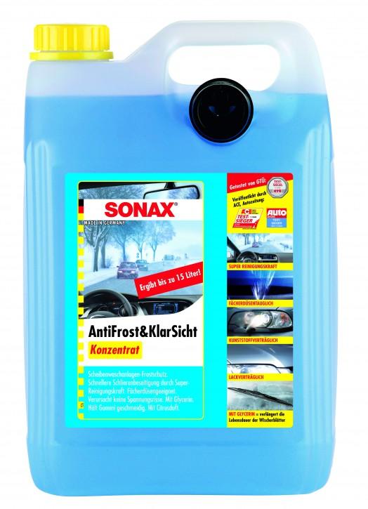 ( 2,70 EUR pro Liter) SONAX Antifrost & Klarsicht Konzentrat 5 Liter