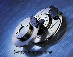 Bremsenset KIA SHUMA (FB) HINTEN 261MM