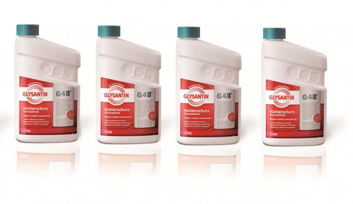 ( 10,50 EUR pro Liter) Sparpaket: Glysantin Protect Plus / G48 (6 l) Kühlerfrostschutz