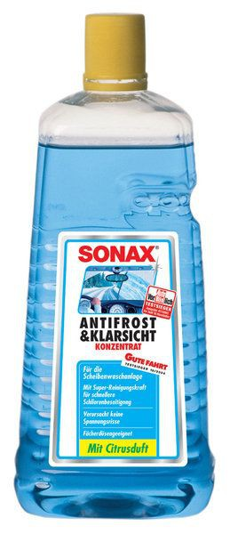 ( 3,75 EUR pro Liter) SONAX Antifrost & Klarsicht Konzentrat 2 Liter