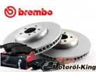 Brembo Bremsscheiben + Beläge BMW 5 (F10, F18) Vorne 348MM inkl. Warnkontakt