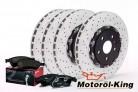 BREMBO Bremsscheiben + Beläge AUDI RS4 B7 / RS 4 Quattro 365MM VORNE + HINTEN 324MM
