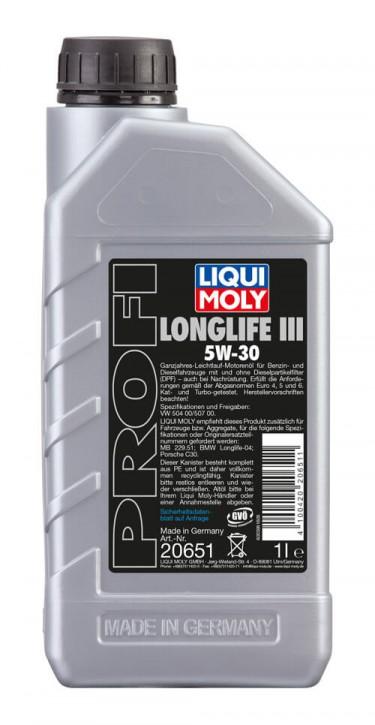 Profi Longlife III 5W-30 Liqui Moly
