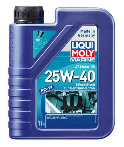Marine 4T Motor Oil 25W-40 Liqui Moly