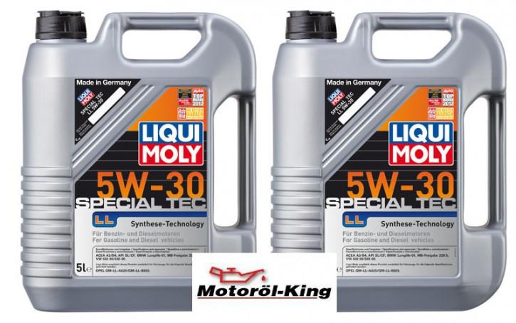 2x 5 Liter >>>>> Special Tec LL 5 W-30 Liqui Moly