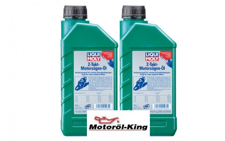 2x 1 Liter >>>> 2-Takt-Motorsägen-Öl Liqui Moly