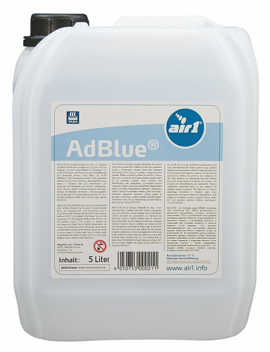 AdBlue® 5 Liter - SCR Harnstofflösung ISO 22241