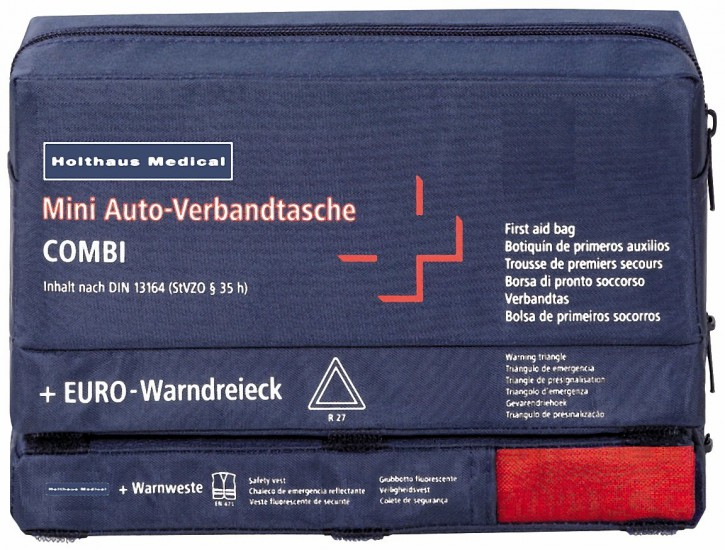 Holthaus Medical Mini 3in1 Auto-Verbandtasche