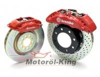BREMBO GT Bremsanlage gelocht AUDI A3 (8L) Quattro 1.8i (110/132 Kw) Vorne 323x28 1-teilig