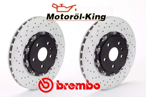 BREMBO Bremsscheiben Gelocht AUDI A4 Avant (8ED, B7) RS4 quattro 365MM VORNE