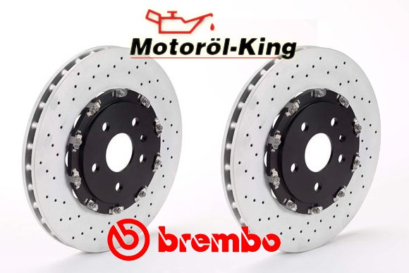 BREMBO Bremsscheiben MERCEDES CLK (C209)(A209) DTM AMG 340MM VORNE