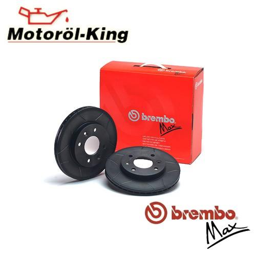 2 Bremsscheibe BREMBO 09.9145.75 BREMBO MAX LINE passend für AUDI SEAT SKODA VW