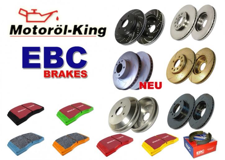 EBC Bremsscheibe und Bremsbeläge für KIA