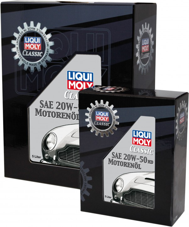 Classic Liqui Moly Motoröl SAE 20W-50 HD
