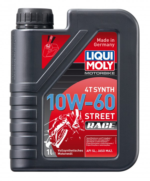 10 W-60 Motorbike 4T Synth Race Liqui Moly