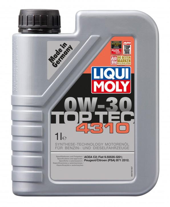 Top Tec 4310 0W-30 Liqui Moly