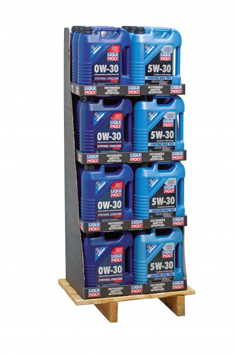 Mischdisplay (12x1151/12x1137)  Liqui Moly 120 l Display 24/5l EP