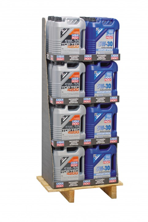 Mischdisplay (12x3707/12x1164)  Liqui Moly 120 l Display 24/5l EP