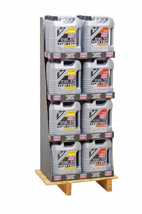 Mischdisplay (12x3707/12x3701) Liqui Moly 120 l Display 24/5l EP