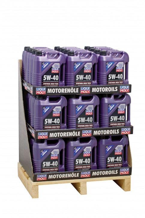 5W-40 Synthoil High Tech Liqui Moly 220 LITER  Display 44 x 5l