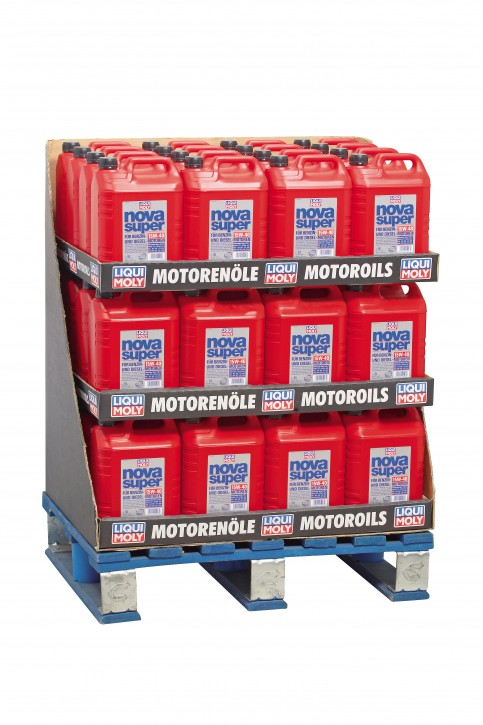 Nova Super 15 W-40 (1426)  Liqui Moly 240 l Display 48/5l