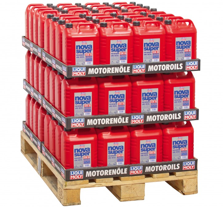 Nova Super 15 W-40 (1426)  Liqui Moly 480 l Display 96/5l
