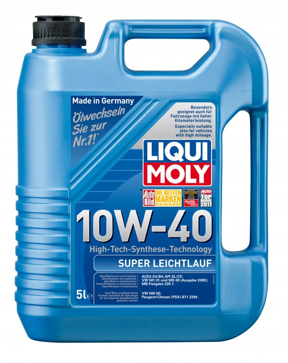 10W-40 Super Leichtlauf LIQUI MOLY 5 LITER
