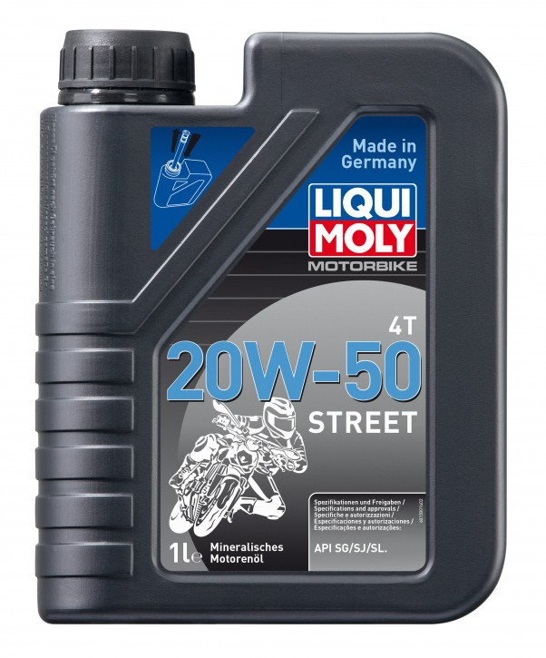 20W-50 Motorbike 4T Street LIQUI MOLY