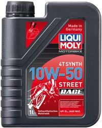 Motorbike 4T Synth 10 W-50 Street Race LIQUI MOLY 1 LITER