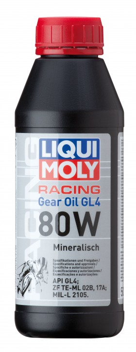 Motorbike Gear Oil 80W LIQUI MOLY 500ml