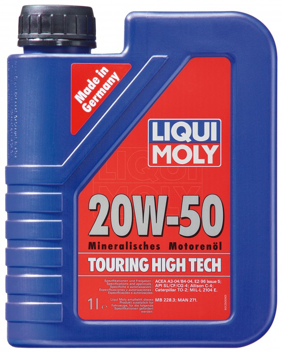 20W-50 TOURING HIGH TECH LIQUI MOLY