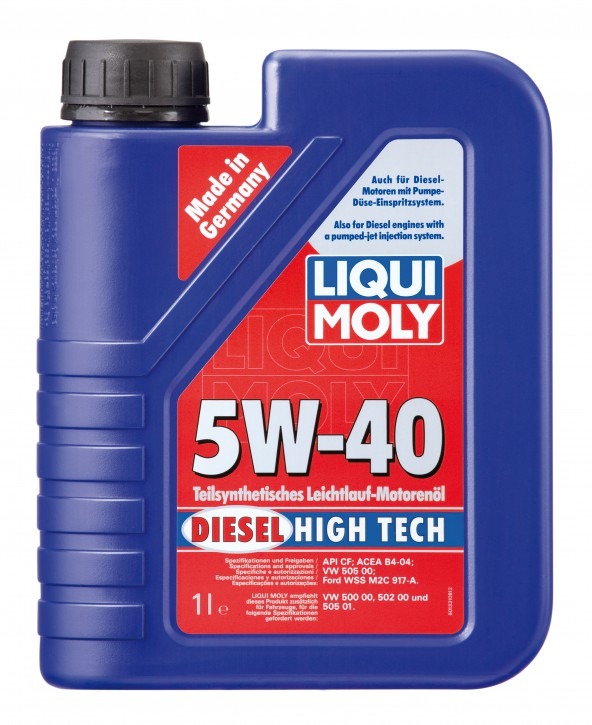 5W-40 DIESEL HIGH TECH LIQUI MOLY