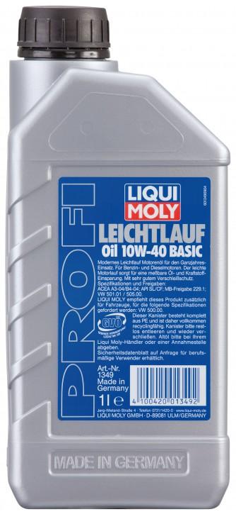 10W-40 PROFI LEICHTLAUF BASIC LIQUI MOLY