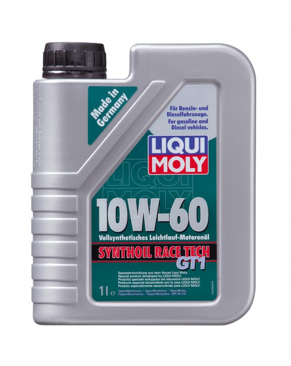 10W-60 Synthoil RACE TECH GT1 LIQUI MOLY