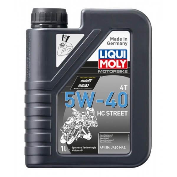 Motorbike 4T 5W-40 HC Street Liqui Moly