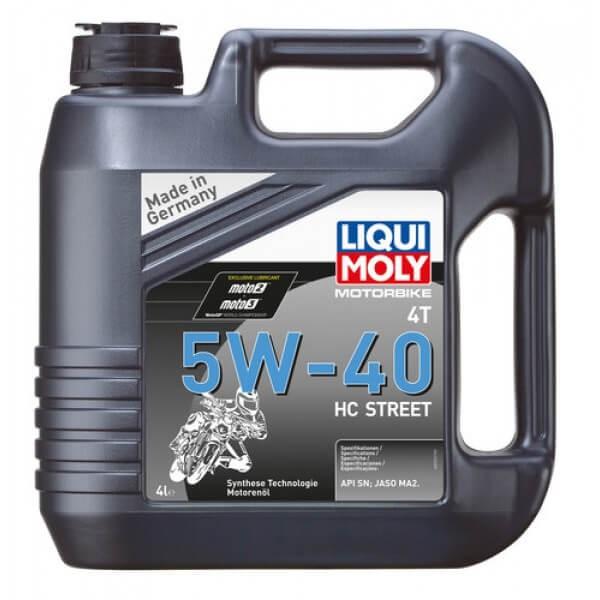 Motorbike 4T 5W-40 HC Street (4 Liter) Liqui Moly