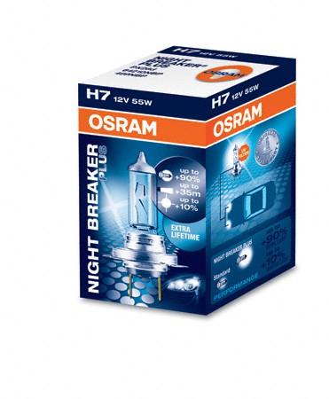 OSRAM NIGHT BREAKER PLUS H7 64210NBP
