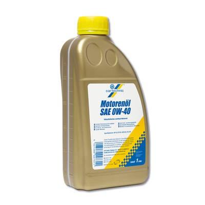 0W-40 Vollsynthetisches Leichtlauföl CARTECHNIC