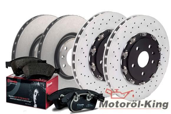 BREMBO Bremsenset OPEL INSIGNIA OPC 4x4 355MM VA + HA 315MM