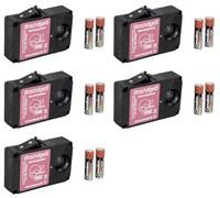 5er Set Ultraschallgeräte mit Batteriebetrieb  STOP&GO Marderabwehr