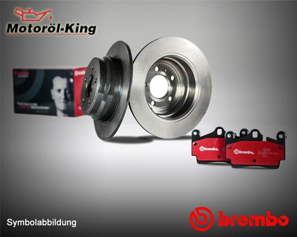 W212 A207 S212 BREMBO Bremsenset gelocht für MERCEDES E-KLASSE Vorne 322MM