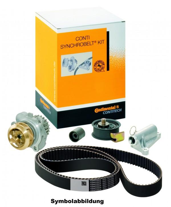 ContiTech CT1028WP3  Zahnriemensatz + Wasserpumpe Kit VW CADDY III (2KA, 2KH)(2KB, 2KJ)
