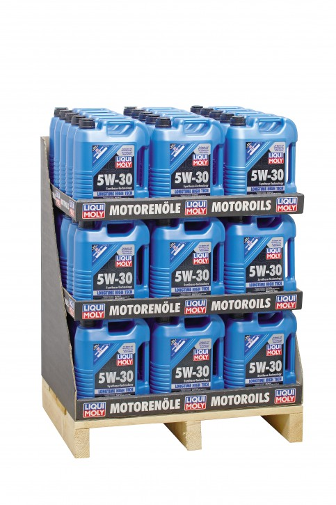 5W-30 Longtime High Tech  Liqui Moly 220 LITER  Display 44 x 5l
