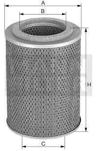 MANN Hydraulikfilter H 957/1