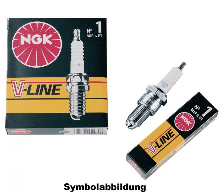 1 Zündkerze NGK - V-Line 24 - BKUR6ET-10 - ORDER-NR: 3045 VW