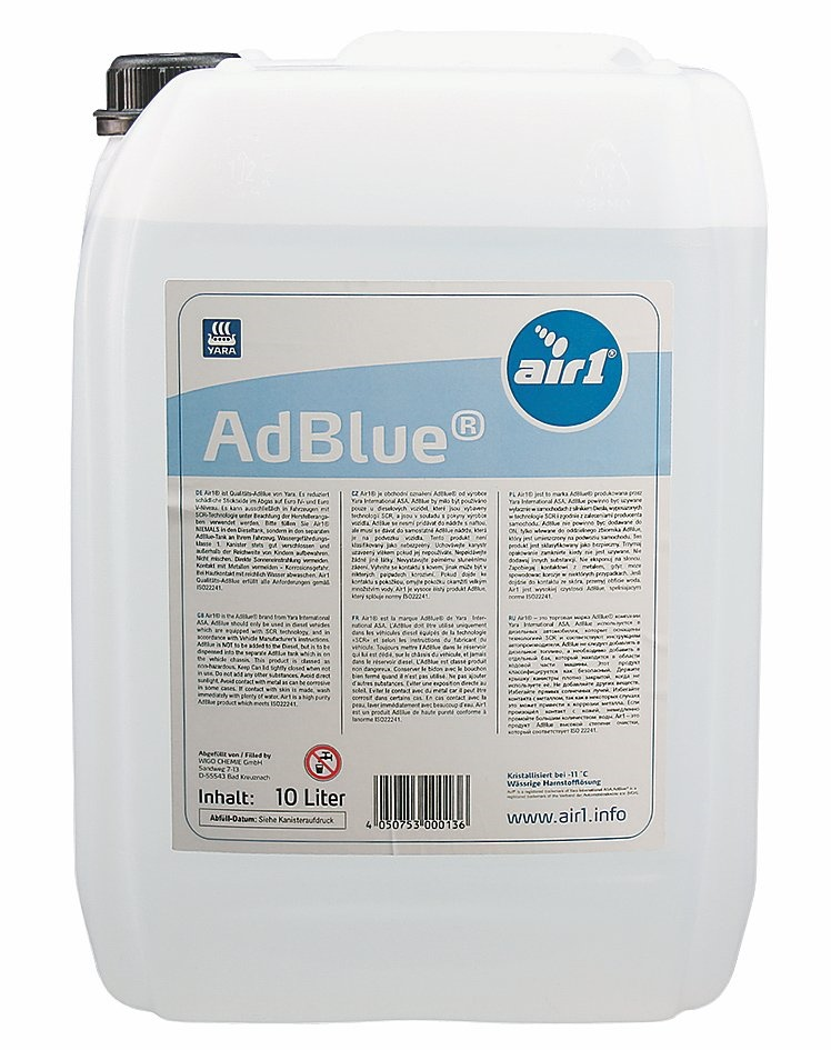 adblue 10 liter scr harnstoffl sung iso 22241. Black Bedroom Furniture Sets. Home Design Ideas