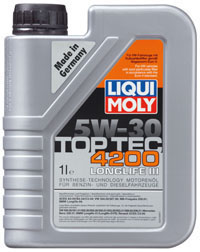 motor l top tec 4200 5 w 30 liqui moly motoroel king. Black Bedroom Furniture Sets. Home Design Ideas